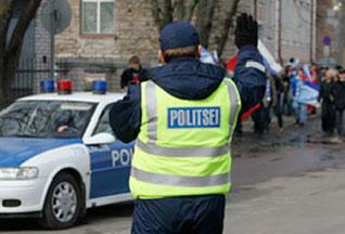 Эстонский полицейский принял решение о штрафе, бросив монетку