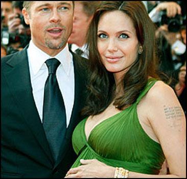 Беременная Джоли раскрывает очередную тайну. Фото