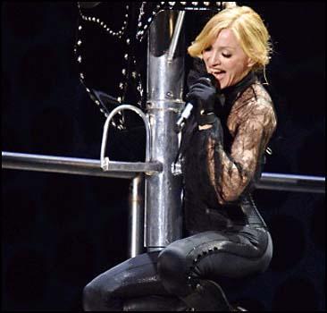 Начинается мировое турне Мадонны