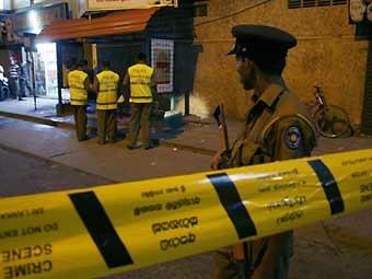 Два человека погибли при взрыве в столице Шри-Ланки