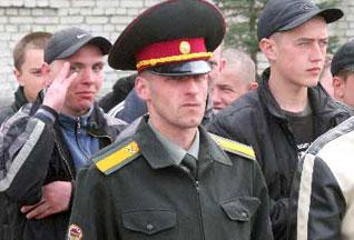 """Призывная кампания """"Весна-2008"""" в разгаре"""
