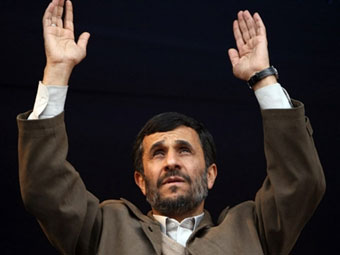 Ахмадинеджад попросил аудиенции у Папы Римского