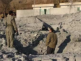 ВВС Турции разбомбили позиции курдских боевиков в Ираке
