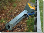 Во Франции на собственной бомбе подорвался борец с радарами на дорогах