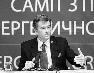 Ющенко предлагает ЕС каспийскую нефть