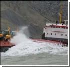 Пьяный экипаж посадил корабль на мель