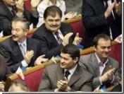 БЮТ заблокировал Раду перед выступлением Ющенко