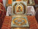 В Одессу прибыли мощи святителя Спиридона Тримифунтского