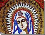Жительница Южного Урала соткала икону из бисера