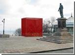 """К годовщине восстания броненосца """"Потемкин"""" Одесса обзаведется красным кубом"""