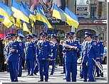 """""""Жовтоблакитний"""" День Победы в Киеве"""