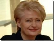На выборах президента Литвы лидирует Грибаускайте