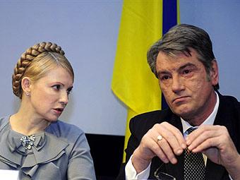 Ющенко запретил Тимошенко продавать государственные шахты