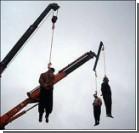 В Иране публично казнили трех террористов