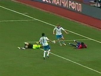 ЦСКА вышел в лидеры чемпионата России по футболу