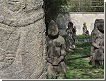 """Каменные """"бабы"""", обнаруженные на севере Приднестровья, старше египетских пирамид"""
