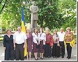Украинцы Приднестровья провели митинг, посвященный 150-летию перезахоронения Тараса Шевченко