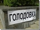 Журналисты из Ровно голодают под зданием Европарламента, чтобы поддержать Луценко. Похвально и трогательно