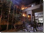 В Триполи загорелись два правительственных здания