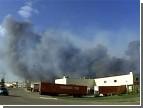 В Канаде из-за лесных пожаров эвакуировали целый город