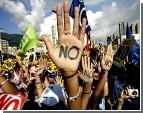 В Афинах демонстрация воспитателей едва не закончилась бойней