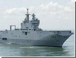 """Франция отправила на ливийскую войну корабль класса """"Мистраль"""""""