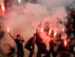 В Санкт-Петербурге задержаны 25 футбольных фанатов