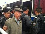 Полиция задержала участников акции на Триумфальной