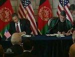 Вашингтон и Кабул подписали договор о стратегическом партнерстве