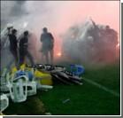 Турецкие фанаты устроили беспорядки. Фото, видео