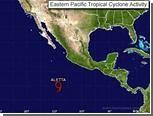 Над Тихим океаном сформировался первый в сезоне шторм