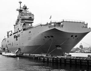 Российский «Мистраль» уйдет в Средиземное море