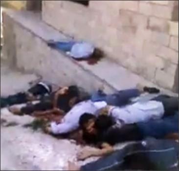 В Сирии - снова резня. Фото. Видео не для слабонервных