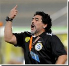 Марадона забросал журналистов камнями. Видео