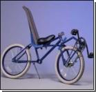 Безумный взгляд на велосипед. ФОТО