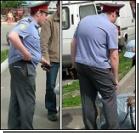 Детские шалости милиционера. ФОТО