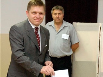 На выборах в парламент Словакии побеждает оппозиция