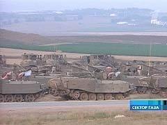 Израиль ночью ввeл войска в сектор Газа