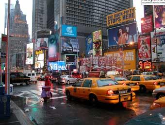 В Нью-Йорке четверо туристов получили ножевые ранения