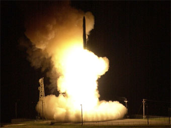 США успешно запустили баллистическую ракету