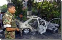 Ланкийского генерала взорвал мотоциклист-смертник