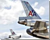 Американский авиалайнер сел без передней стойки шасси