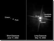 Две новых луны Плутона получили загробные мифологические имена: Никса и Гидра