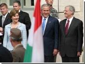 Буш посетил Венгрию и сравнил Багдад с Будапештом 1956 года