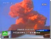 При взрыве на китайском химзаводе погибли 10 человек