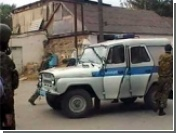В Махачкале подорван автомобиль ДПС