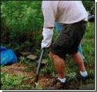 Украинец закопал в огороде юную сожительницу