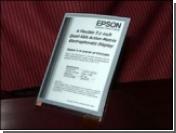 Электронная бумага Epson: формат A6, разрешение QXGA