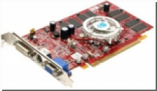 HIS X550 512MB HyperMemory PCIe - полгигабайта памяти у бюджетной видеокарты