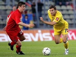 Шевченко отметил свое возвращение голом в ворота сборной Люксембурга